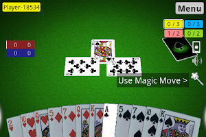 Screenshot of Spades 3D
