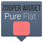Pure Flat UI - Zooper Widget