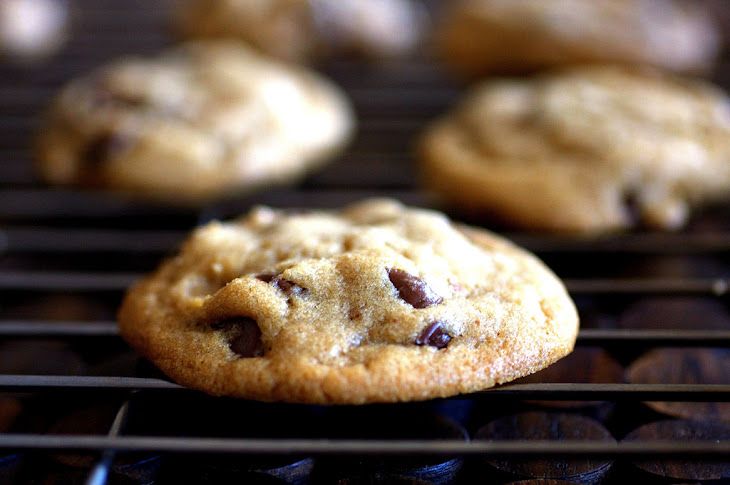 Crispy, Chewy Chocolate Chip Cookies Recipe
