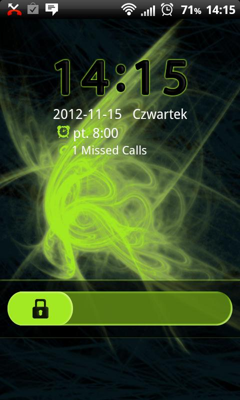 GO Locker Future Theme - screenshot