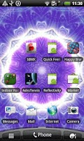 Screenshot of Magic Photo Kaleidoscope LWP