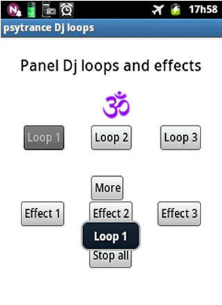 Psytrance DJ loops - screenshot