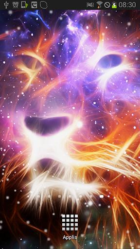 Starfield Lion Galaxy LWP