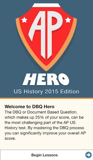 AP US History Exam Prep DBQ