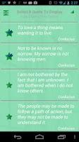 Screenshot of Confucius Quotes
