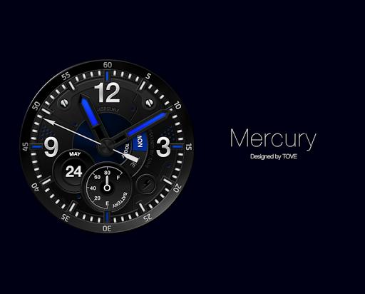 Mercury watchface by Tove