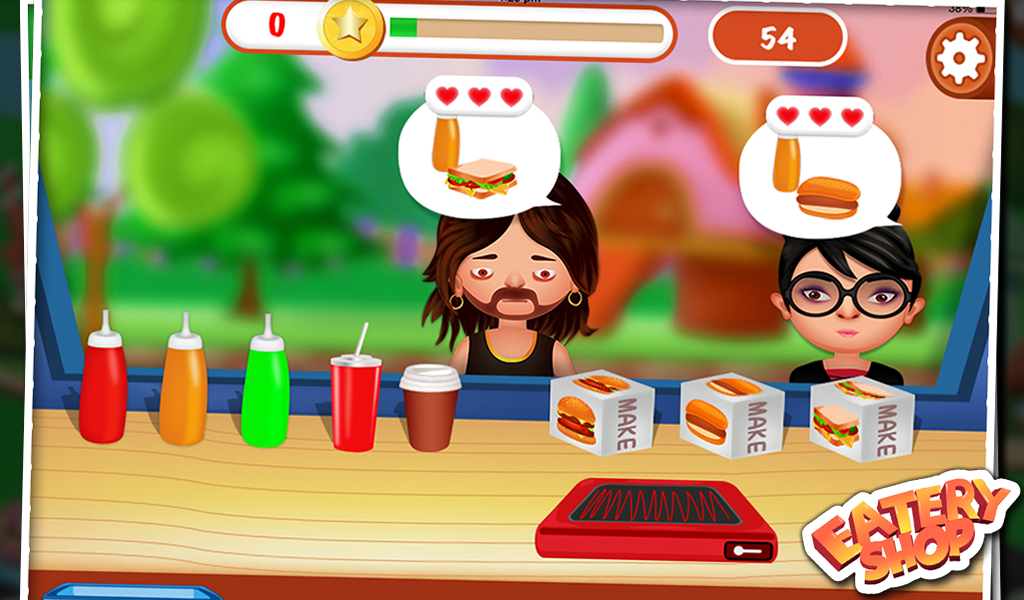Eatery Shop - Kids Fun Game- screenshot