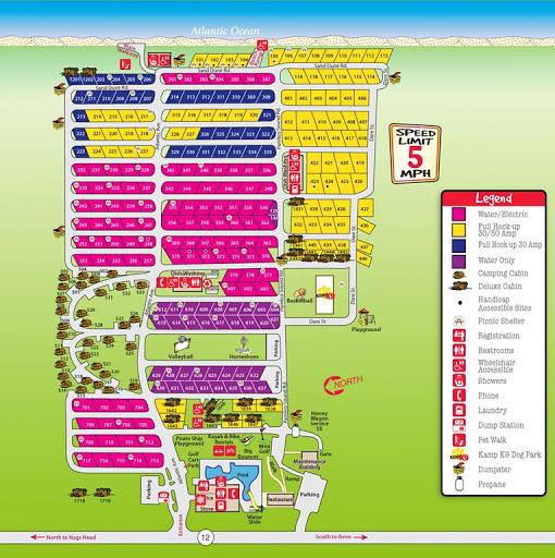 Cape Hatteras Koa Bookyoursite - Us-map-of-koa-campgrounds