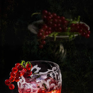 Red Currant Whiskey Sour