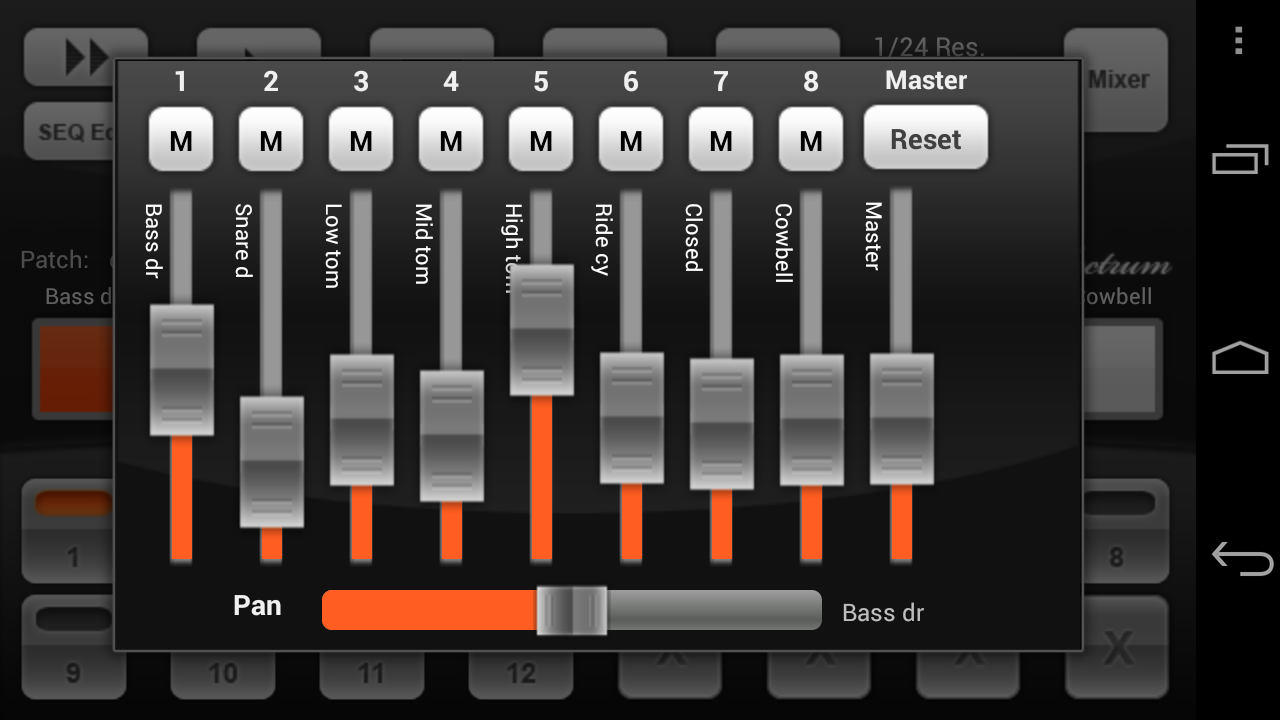 Electrum Drum DEMO - screenshot