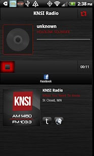 KNSI AM 1450 & FM 103.3 - screenshot thumbnail