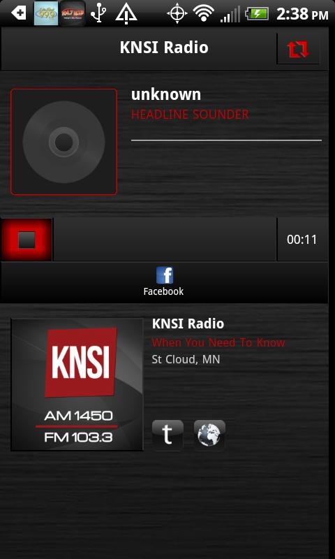 KNSI AM 1450 & FM 103.3 - screenshot