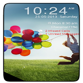Galaxy s4 flip lock screen