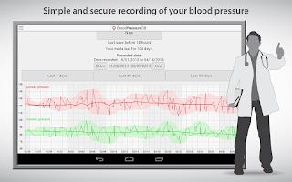 Screenshot of BloodPressureDB