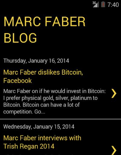 Marc Faber News Blog