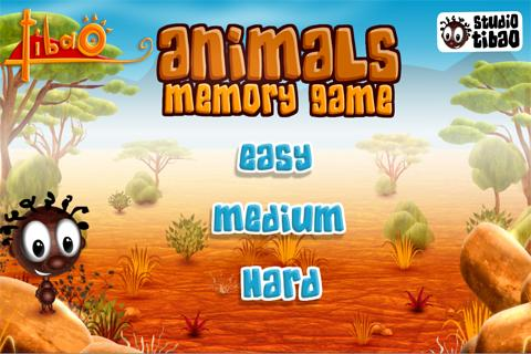 TIBAO - Animals Memory Game