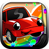 Race Car Coloring Game