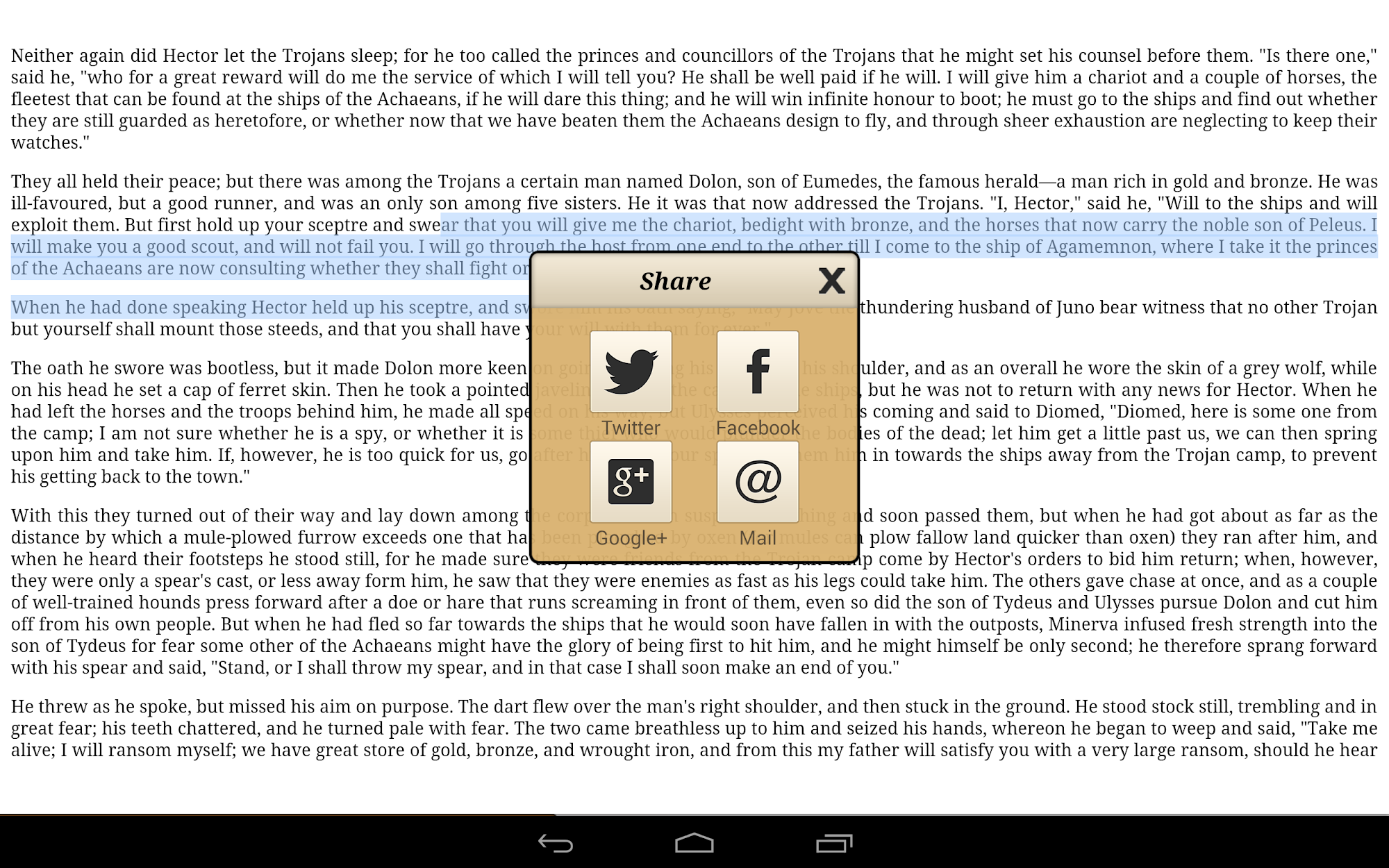 Ebook Reader screenshot #10
