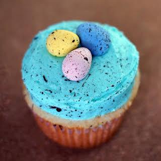 Speckled Egg Easter Cupcakes.