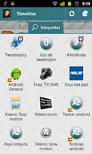 TweetTopics 1.0 (old version)- screenshot thumbnail