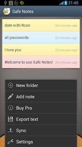Safe Notes v1.9.20131025
