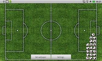 Screenshot of Football Live Wallpaper