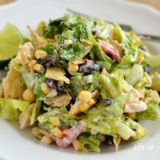 Southwest Chicken Chopped Salad.