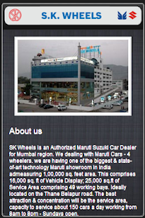 SK Wheels Mobile Care App screenshot