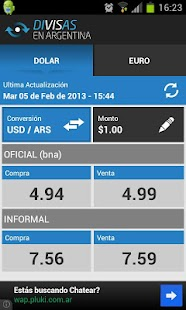 Divisas en Argentina - screenshot thumbnail