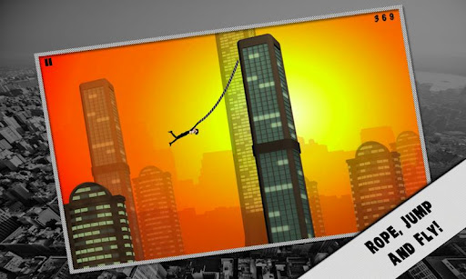 Rope'n'Fly - From Dusk v1.0 apk