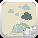 (FREE) White Rabbit GO Theme icon