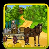Hill Climb Horse Cart