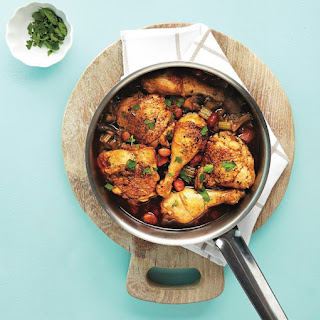 Roasted Chicken And Romano Bean Stew