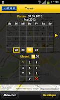 Screenshot of Taxi-Zentrale Basel