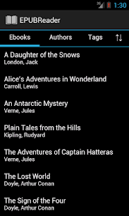 EPUB Reader- screenshot thumbnail