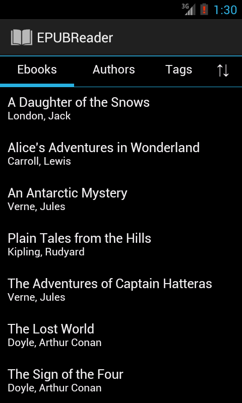 EPUB Reader- screenshot