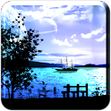 Lake View Scene FULL logo