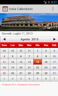 Italia Calendario 2014 - screenshot thumbnail
