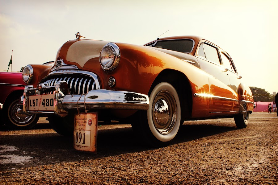 The Vintage Car by Vivek Sharma - Transportation Other (  )