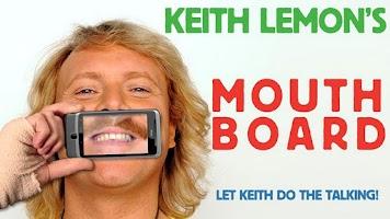 Screenshot of Keith Lemon's Mouthboard