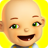 Download Talking Babsy Baby: Baby Games APK on PC