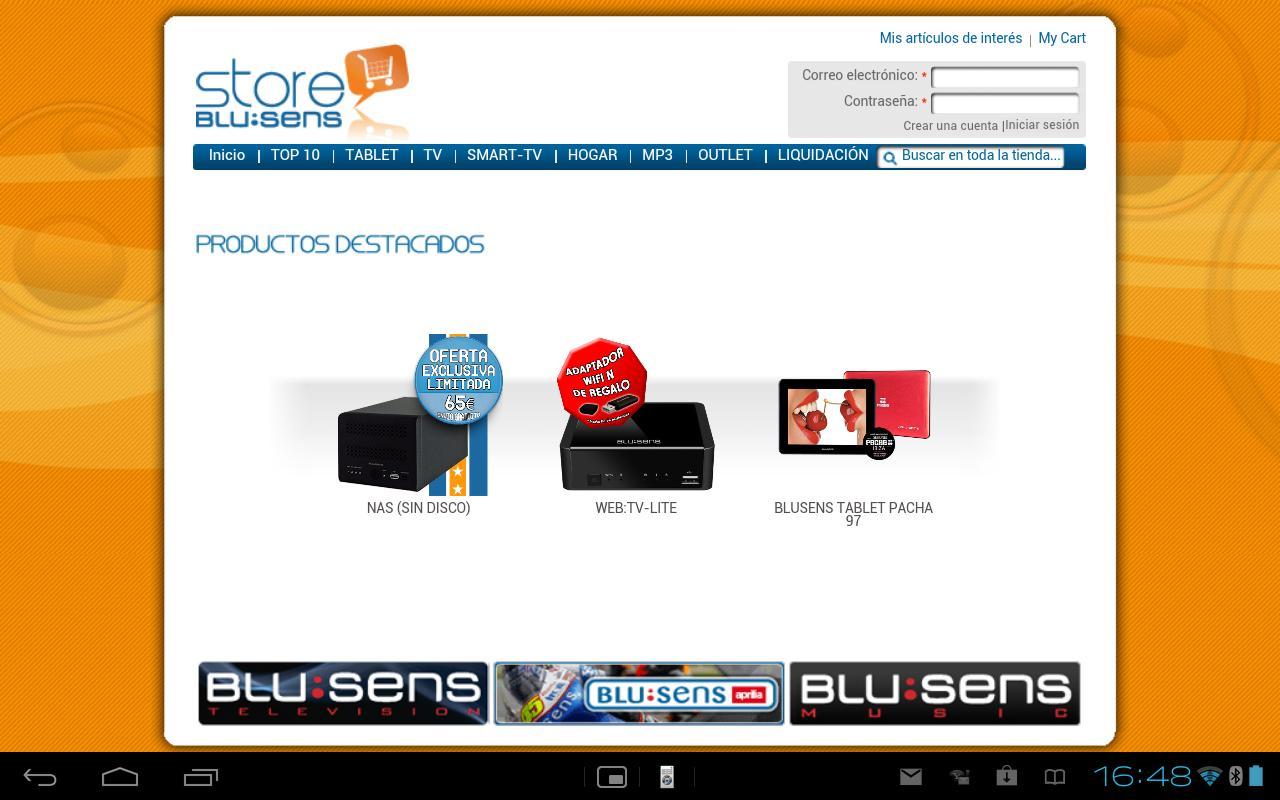 Blu:Store - screenshot