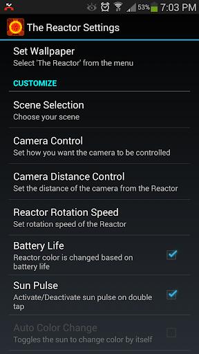 Reactor Live Wallpaper