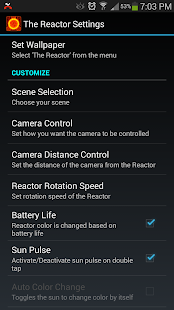 Reactor Live Wallpaper - screenshot thumbnail