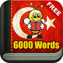 Learn Turkish - 6,000 Words icon