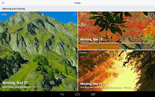 Screenshot of Morning and Evening (Lite)