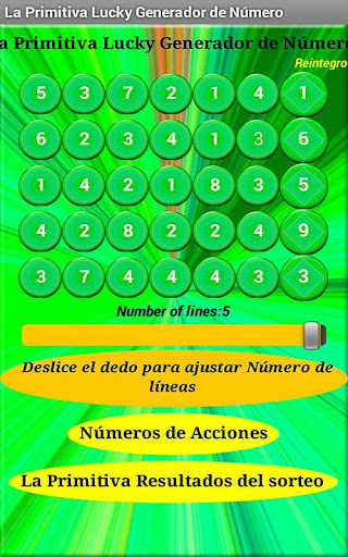 La Primitiva Números Generator
