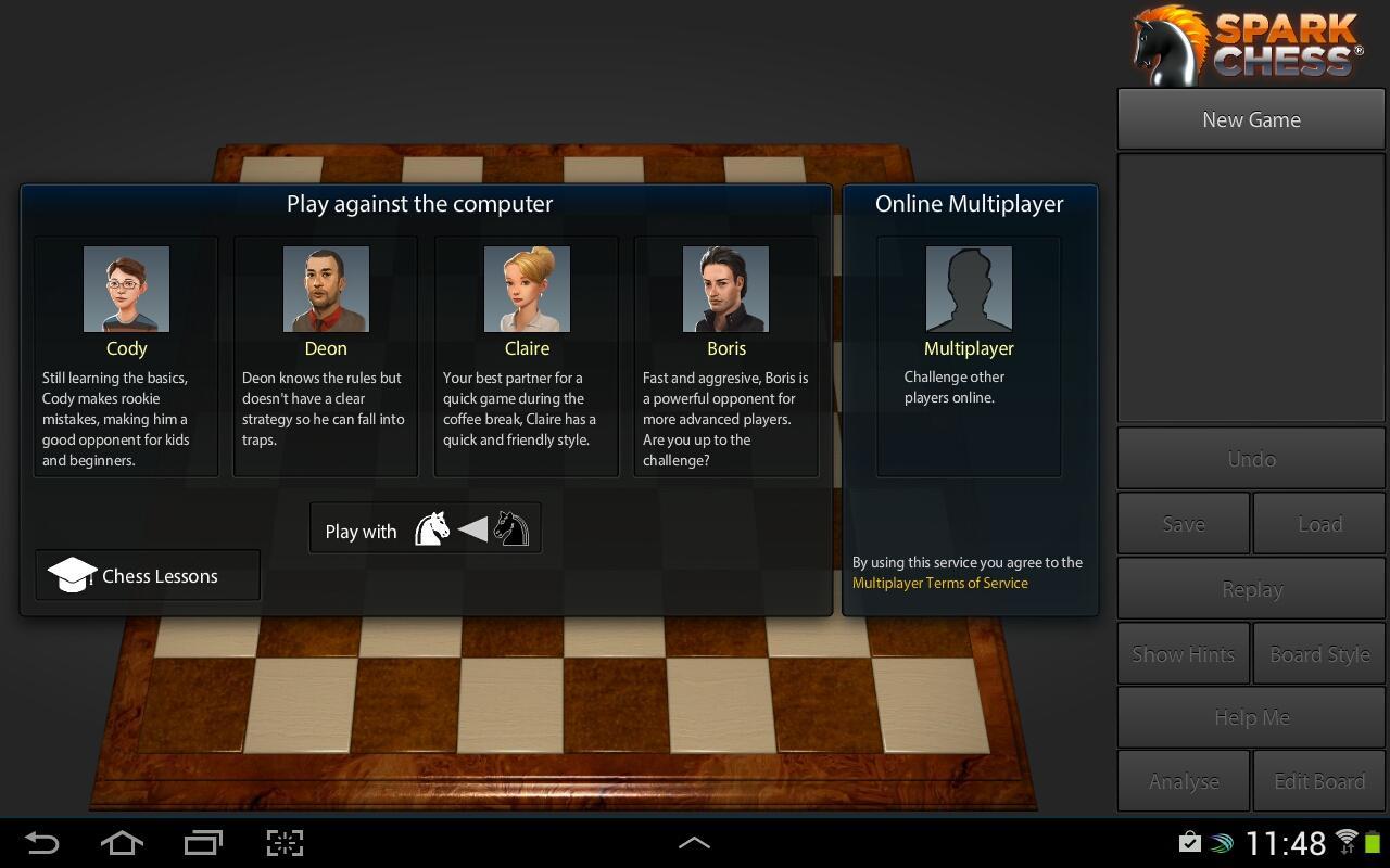 SparkChess HD- screenshot