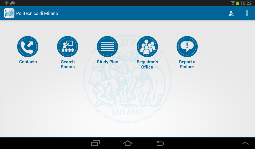 Polimi- screenshot