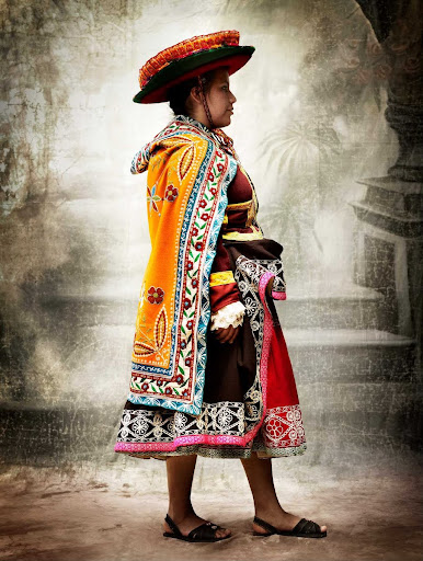 I, Traditional women's costume, district of Acopía, province of Acomayo, Cusco, Peru 2007